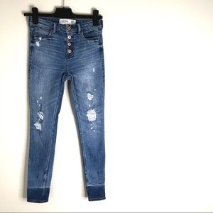 Abercrombie & Fitch Ankle Jean High Rise